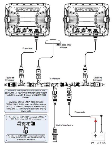 Nmea 2000 Wiring Diagram by Lowrance Wiring Diagram Pulsecode Org