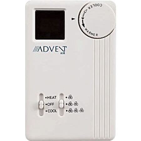 advent air acth analog air conditionerfurnace thermostat