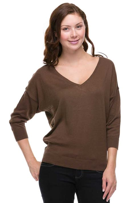 dolman sleeve knit  neck top