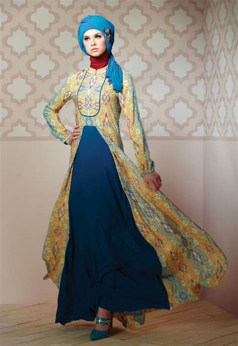 model baju batik kombinasi brokat modern  pesta