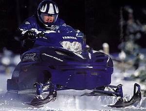 2000 Yamaha Srx700 Snowmobile Factory Repair