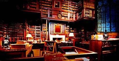 Potter Harry Library Hogwarts Classroom Common Dumbledore