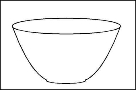 ustensile de cuisine en c le bol de riz coloriage