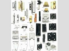 There are lots of different types of door hinges, so we