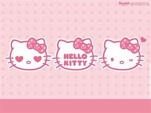 Pink Hello Kitty Backgrounds Wallpaper Cave