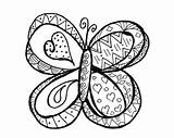 Butterfly Coloring Pages Doodle Easter Happy Printable Butterflies Colouring Spring Adults Flowers Justpaintitblog Colorful Flower Intricate sketch template