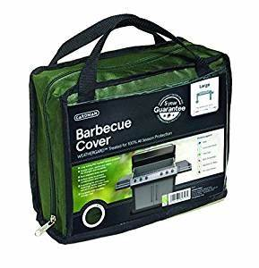 Gardman premium woven bbq cover green large amazonco for Amazon gardman furniture covers