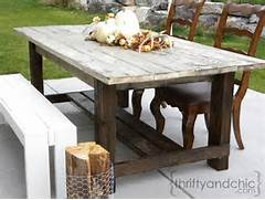 Make Outdoor Wood Table by Plans For Wooden Outdoor Table Quick Woodworking Projects