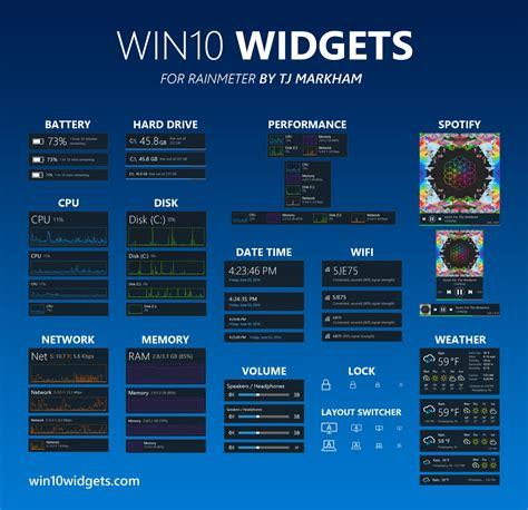 win widgets mini aplikace na plose windows
