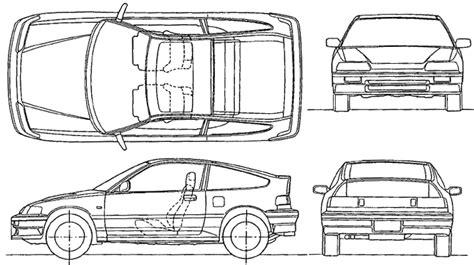 Kleurplaat Honda Civic Type R by Honda Civic Top View Coloring Pages