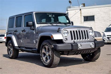 jeep hardtop 2016 2016 jeep wrangler unlimited sahara 4x4 hard top navi