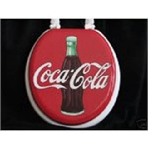 Coca Cola Handpainted Toilet Seat (02182008