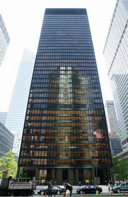 Building York Seagram English Van Mies Architect