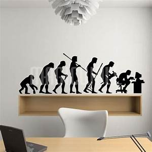 Human Evolution - Wall Decals Canada - Wall Stickers
