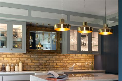 Brass kitchen lighting   we shine a light on its comeback