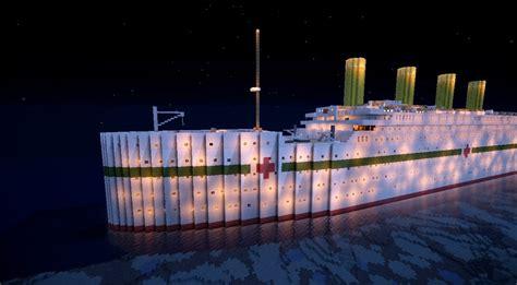 the sinking of the britannic minecraft titanic departure travel and sinking minecraft
