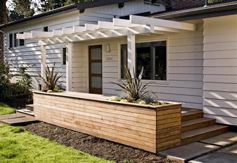 modern wood siding exterior contemporary  black trim