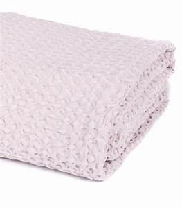 Plaid De Lit : jet de canap couvre lit rose poudre 100 coton plaid addict vente en ligne de plaids coton ~ Teatrodelosmanantiales.com Idées de Décoration