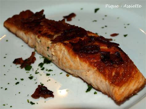 paves de saumon po 202 le aux brisures de lard pique assiette