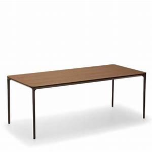Table Extensible Bois : table moderne extensible en bois slim sovet 4 pieds tables chaises et tabourets ~ Teatrodelosmanantiales.com Idées de Décoration