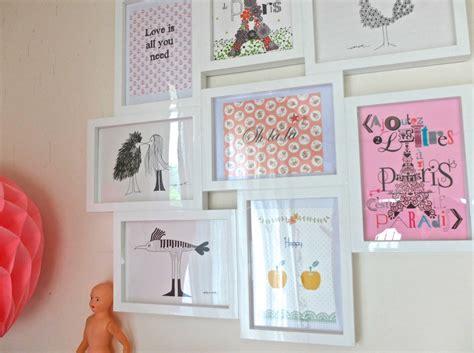 cadre multi photo ikea visite de mon bureau et petites adresses parisiennes