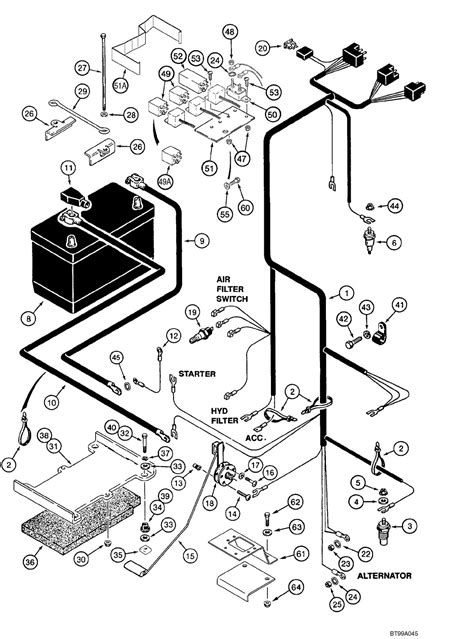 Bobcat Fuel System Diagram Wiring Images