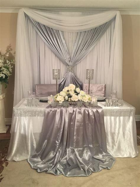 Sweetheart Table Wedding Decor Backdrops Sweetheart And