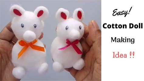 diy cotton doll easy    cotton doll  home