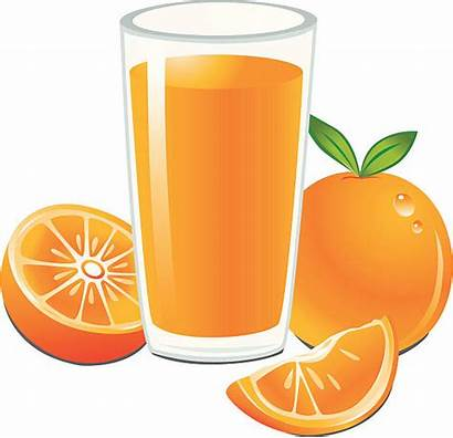 Juice Orange Glass Vector Illustrations Clip Illustration