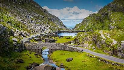 Ireland Kerry Gap Dunloe County Bridge Irlanda