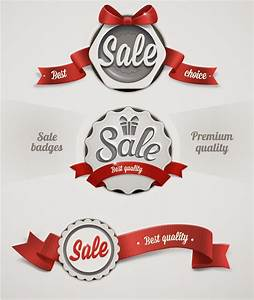 Ribbon Badge Sale Tags Vector | Free Vector Graphic Download