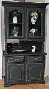 Black China Cabinet Hutch Roselawnlutheran