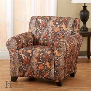 Kings camo strapless slip resistant form fit furniture for King furniture slipcovers