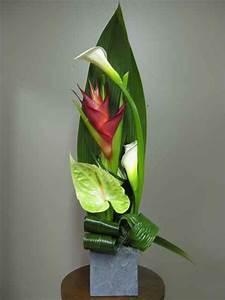 composition florale 2606 2 fleuriste montreal fleurs With chambre bébé design avec composition de fleurs exotiques