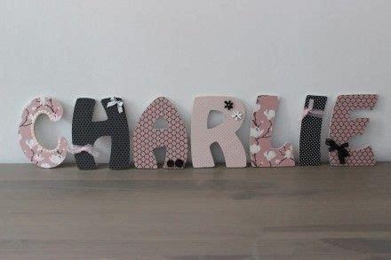 le sur pied chambre bébé lettres en bois personnalisées prénom bébé enfant chambre