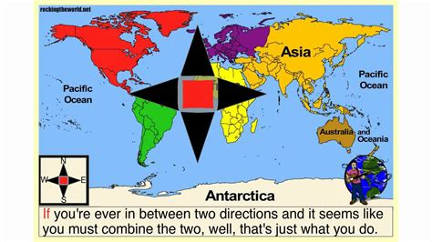 cardinal directions geography song youtube