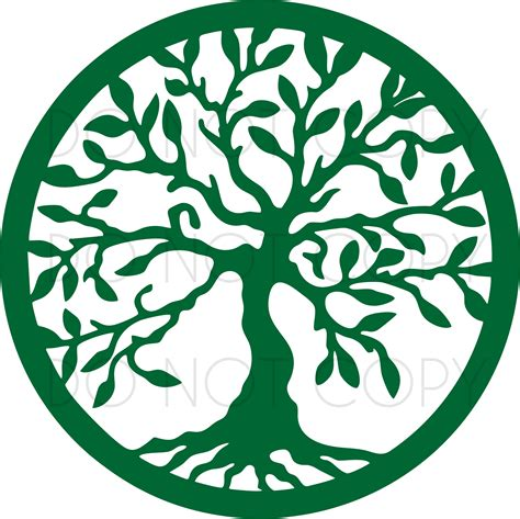 Free svg designs | download free svg files for your own. Tree Of Life SVG DXF Cut Print Design for Cricut ...