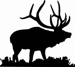 The gallery for --> Elk Silhouette