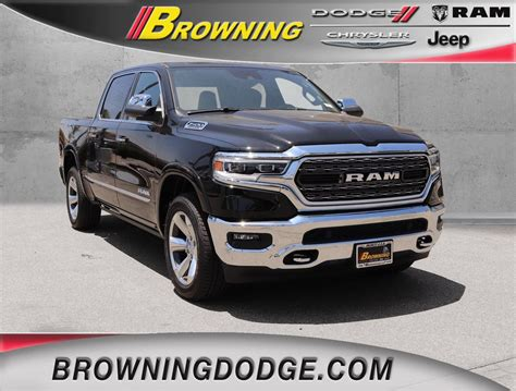 new 2019 ram all new 1500 limited crew cab in norco 9954019 browning dodge