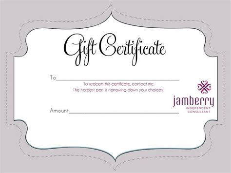 perfect gift  jamberry gift card   pick