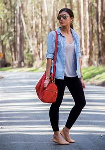 Cute Summer Outfit With Leggings