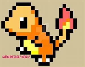 pokemon charmander pixel art by sweglikesuga on DeviantArt