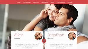 ia creative design wedding website design With wedding picture sharing website