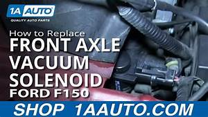 How To Replace Front Axle Vacuum Solenoid 05