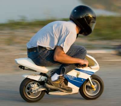 finer  pocket bikes  ballast