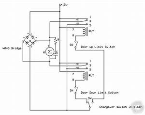 Power Window Motor With Relay