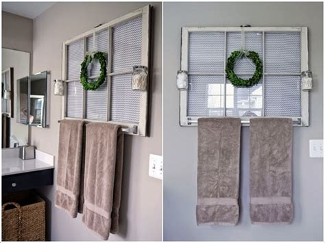 You can go for a statement wall done with wallpaper and go for shiplap and paneling on the other walls or mix up wallpaper with tiles or with something else that you like. 10 Creative DIY Bathroom Wall Decor Ideas