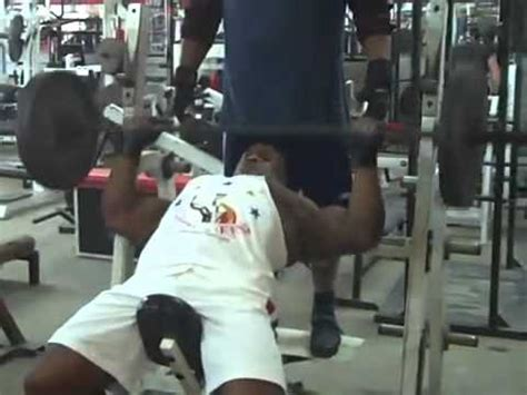 Ronnie Coleman Incline Bench Press  Ronnie Coleman