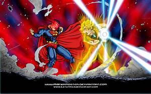 Superman VS Goku Wallpaper by Ratatman on DeviantArt
