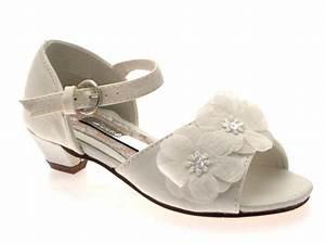 GIRLS-KIDS-SATIN-FLOWER-WEDDING-BRIDAL-BRIDESMAID-IVORY ...